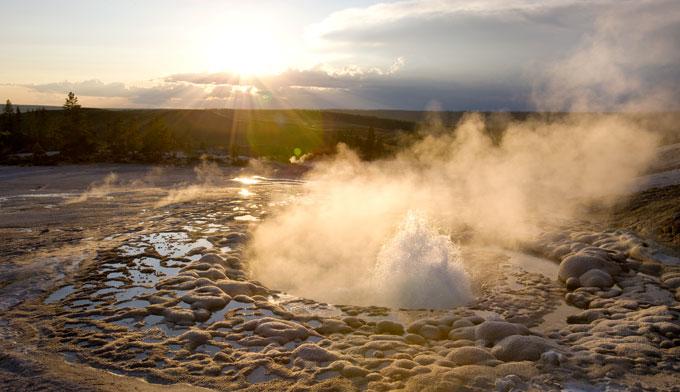 Yellowstone-Geysers