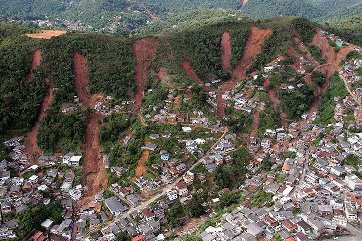 Brazil mudflow