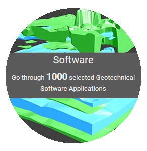 Geotechpedia reached a 1000 links on Geotechnical Software